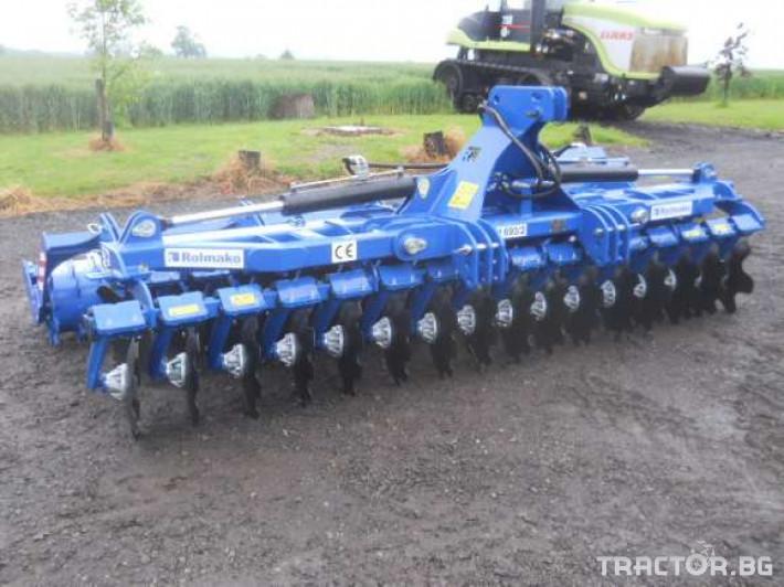 Брани Дискова брана ROLMAKO U693 4метраH 1 - Трактор БГ