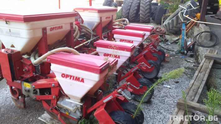 Сеялки Сеялка ACCORD OPTIMA 6 НАЛИЧНА И НАМАЛЕНА! 6 - Трактор БГ