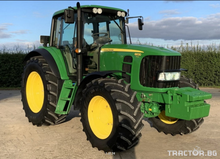 Трактори John-Deere 6830 Premium- 1812 ЧАСА!! 0