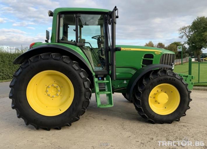 Трактори John-Deere 6830 Premium- 1812 ЧАСА!! 1