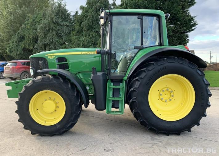 Трактори John-Deere 6830 Premium- 1812 ЧАСА!! 6