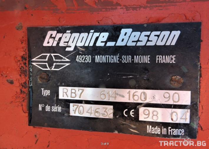 Плугове Gregoire Besson 6 (5+1) тела 2