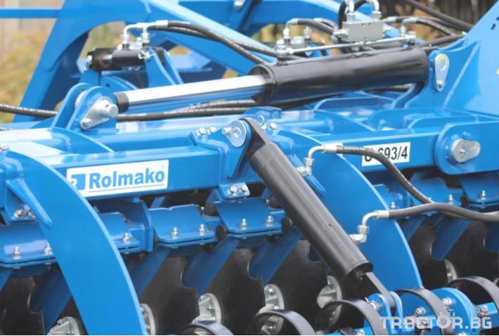 Брани Дискова брана ROLMAKO U693 4метраH 10 - Трактор БГ