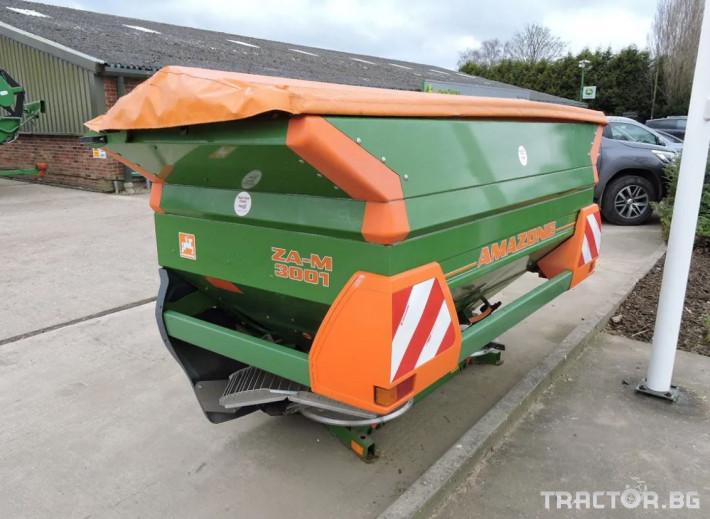 Торачки Amazone  ZA-M 3001 -НАЛИЧНА И НАМАЛЕНА! 3 - Трактор БГ