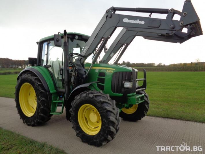 Трактори John-Deere 6430 С ТОВАРАЧ - 4815 ЧАСА! 1 - Трактор БГ
